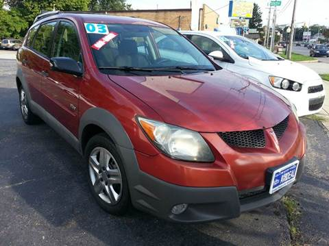 2003 Pontiac Vibe for sale in Michigan City, IN