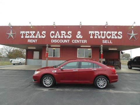 2012 Chrysler 200 for sale in Fairfield, TX