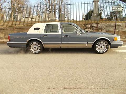 1992 Lincoln Town Car For Sale Carsforsale Com