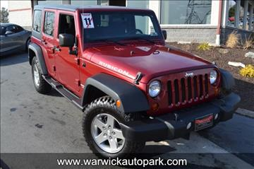 2011 Jeep Wrangler Unlimited for sale in Lititz, PA