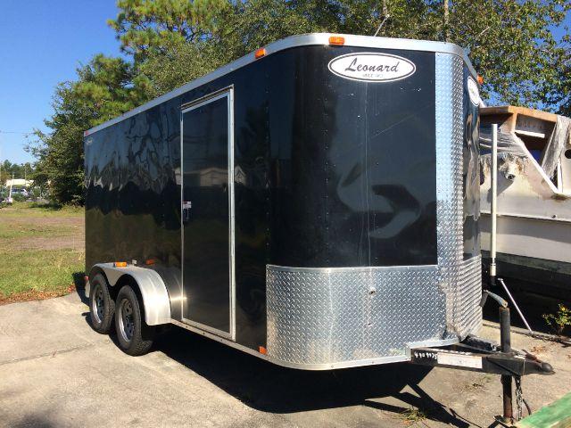 2011 Leonard Enclosed Cargo Trailer