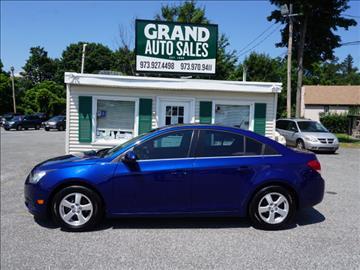 2012 Chevrolet Cruze for sale in Kenvil, NJ