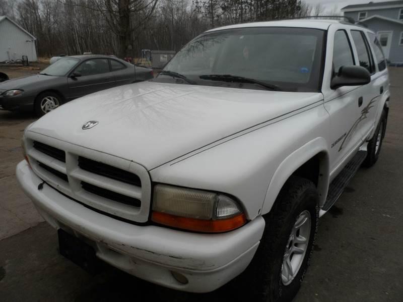 2001 Dodge Durango Sport 4WD 4dr SUV - Cornell WI