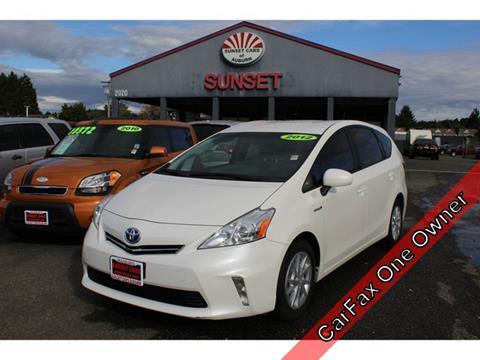 2012 Toyota Prius v for sale in Auburn, WA