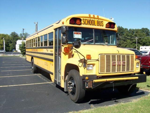 2001 GMC SCHOOL BUS