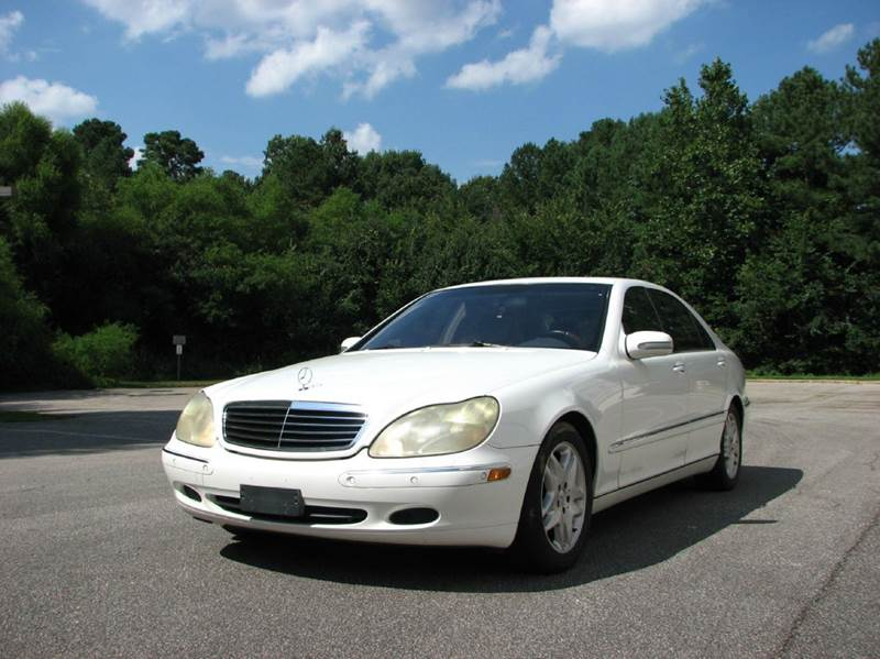 2002 mercedes benz s class s500 4dr sedan in raleigh nc. Black Bedroom Furniture Sets. Home Design Ideas