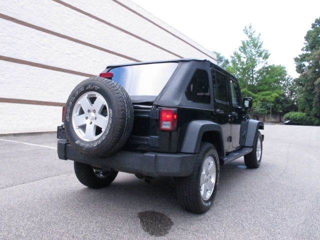 2008 Jeep Wrangler Unlimited 4x4 X 4dr SUV - Raleigh NC