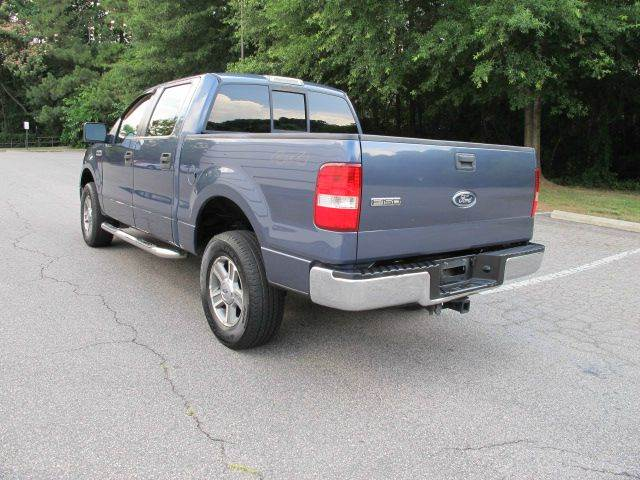 2005 Ford F-150 XLT 4dr SuperCrew 4WD Styleside 5.5 ft. SB - Raleigh NC