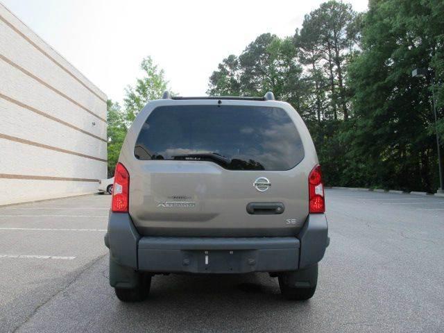 2005 Nissan Xterra SE 4WD 4dr SUV - Raleigh NC