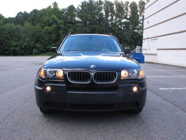 2004 BMW X3 AWD 2.5i 4dr SUV - Raleigh NC