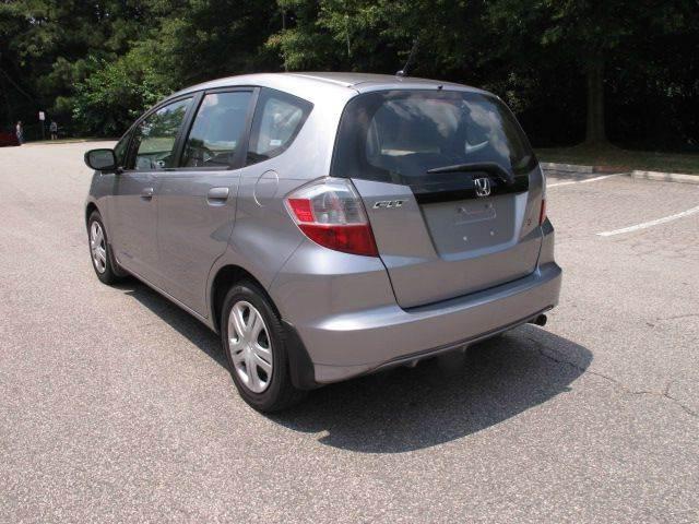 2009 Honda Fit Base 4dr Hatchback 5A - Raleigh NC