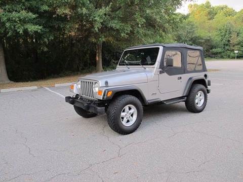 2000 Jeep Wrangler for sale in Raleigh, NC