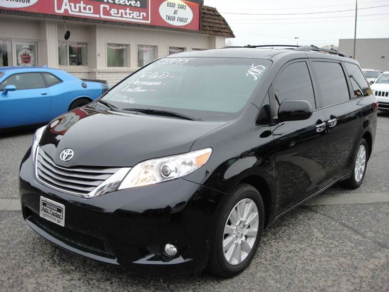 2015 toyota sienna awd xle premium 7 passenger 4dr mini van in farmington nm don reeves auto. Black Bedroom Furniture Sets. Home Design Ideas