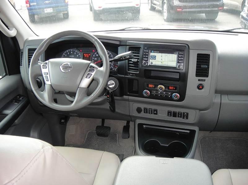 2015 Nissan Nv Passenger 3500 HD SL 3dr Passenger Van V8
