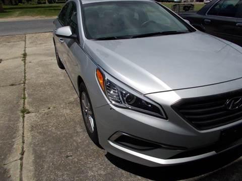2016 Hyundai Sonata for sale in Taylorsville, MS