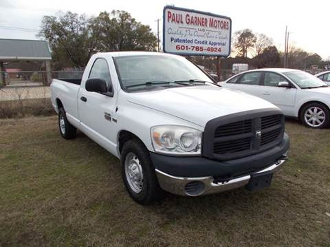2007 Dodge Ram Pickup 2500 for sale in Taylorsville, MS