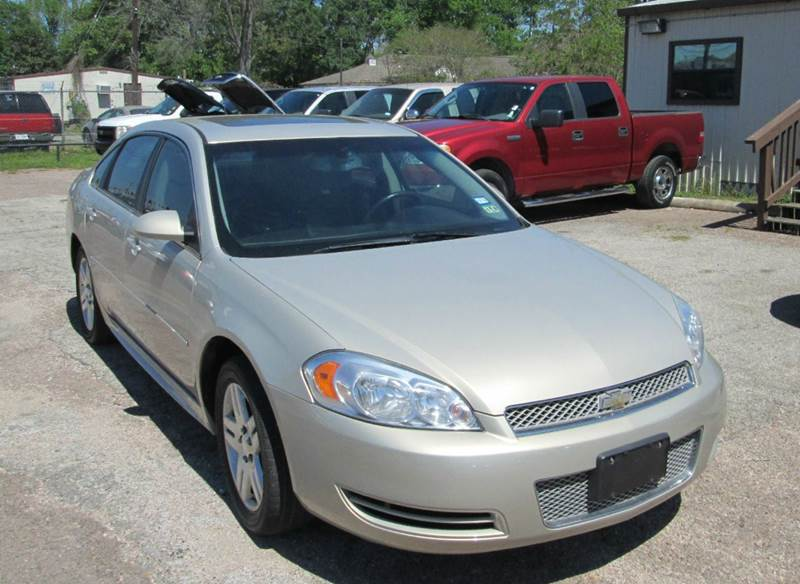 2012 Chevrolet Impala LT Fleet 4dr Sedan - Beaumont TX