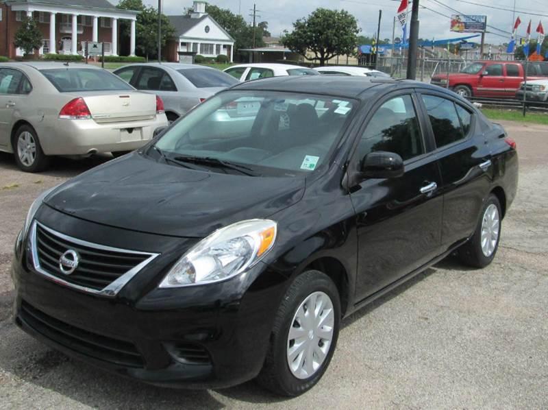 2012 Nissan Versa 1.6 SV 4dr Sedan - Beaumont TX