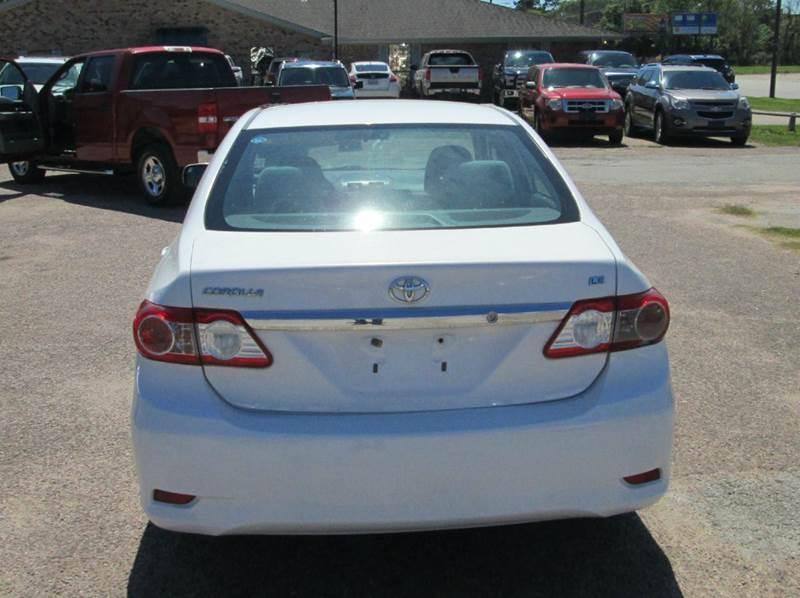 2011 Toyota Corolla LE 4dr Sedan 4A - Beaumont TX