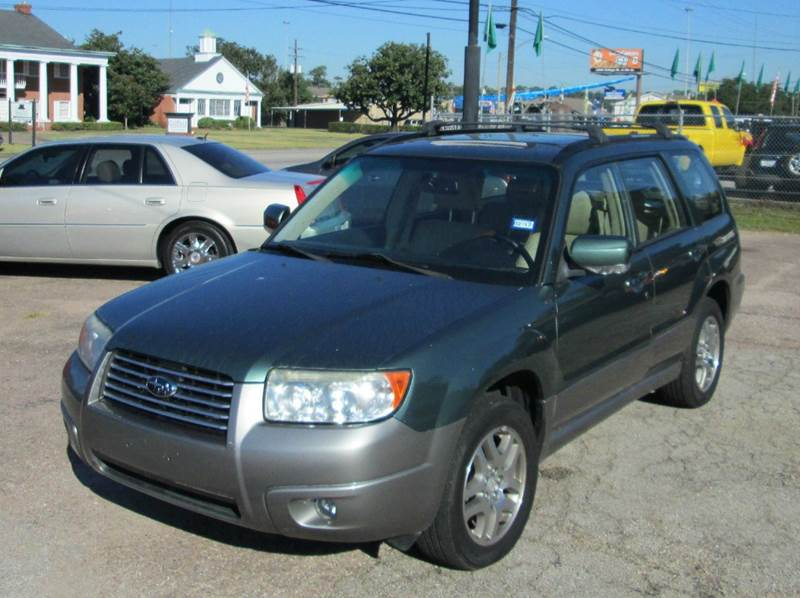 2006 subaru forester awd 2 5 x l l bean edition 4dr wagon in beaumont tx pittman 39 s sports. Black Bedroom Furniture Sets. Home Design Ideas