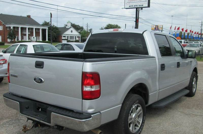 2008 Ford F-150 4x2 XLT 4dr SuperCrew Styleside 5.5 ft. SB - Beaumont TX