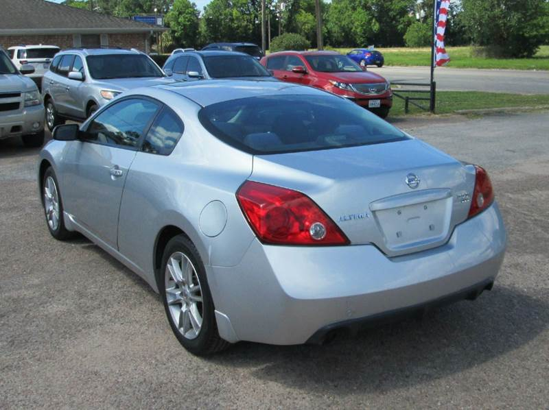 2008 Nissan Altima 3.5 SE 2dr Coupe CVT - Beaumont TX