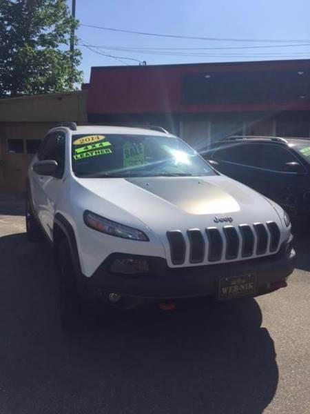 2014 Jeep Cherokee 4x4 Trailhawk 4dr SUV - Fitchburg MA