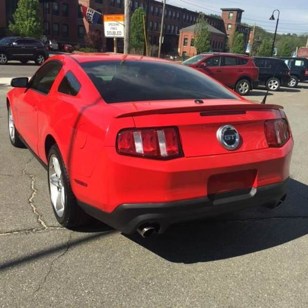 2012 Ford Mustang GT Premium 2dr Coupe - Fitchburg MA