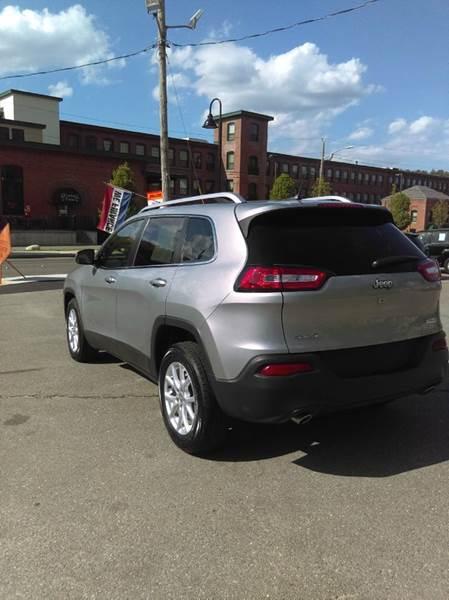 2014 Jeep Cherokee 4x4 Latitude 4dr SUV - Fitchburg MA