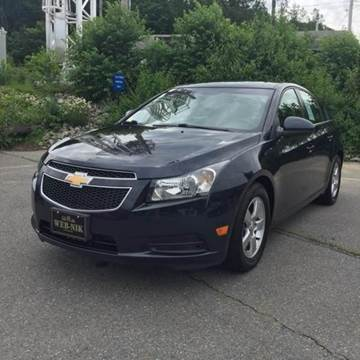 2014 Chevrolet Cruze for sale in Fitchburg, MA