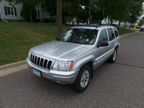 2002 Jeep Grand Cherokee for sale in Cambridge, MN
