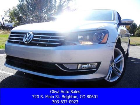 2012 Volkswagen Passat for sale in Brighton, CO