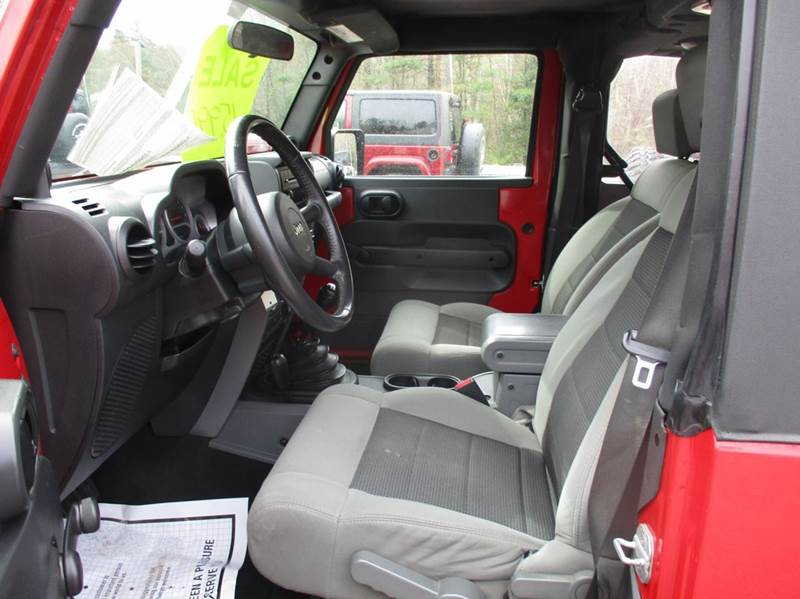 2010 Jeep Wrangler 4x4 Sport 2dr SUV - Epsom NH
