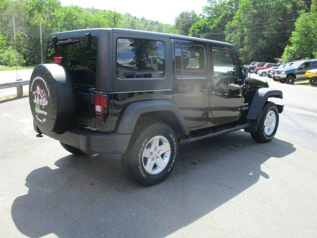 2014 Jeep Wrangler Unlimited 4x4 Sport 4dr SUV - Epsom NH