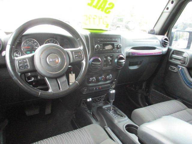 2011 Jeep Wrangler Unlimited Sport 4x4 4dr SUV - Epsom NH