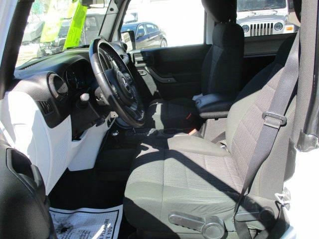 2011 Jeep Wrangler 4x4 Sport 2dr SUV - Epsom NH