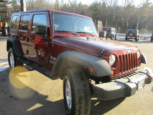 2008 Jeep Wrangler Unlimited 4x4 X 4dr SUV - Epsom NH