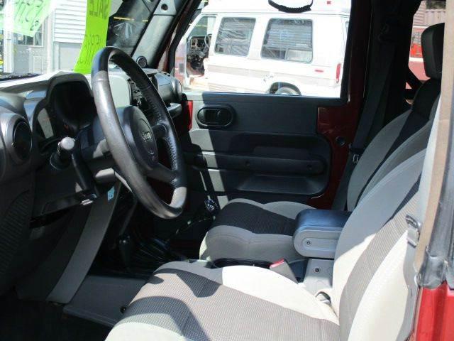 2007 Jeep Wrangler 4x4 X 2dr SUV - Epsom NH