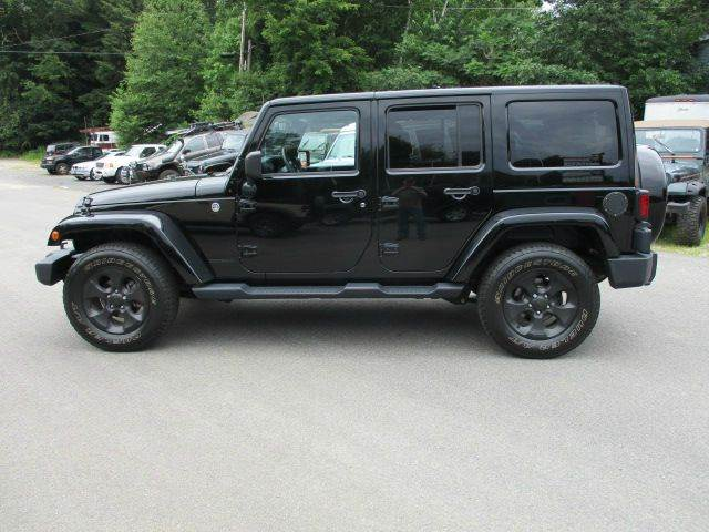 2014 Jeep Wrangler Unlimited 4x4 Dragon 4dr SUV - Epsom NH