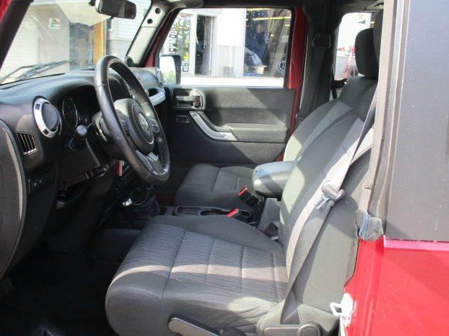2012 Jeep Wrangler 4x4 Rubicon 2dr SUV - Epsom NH