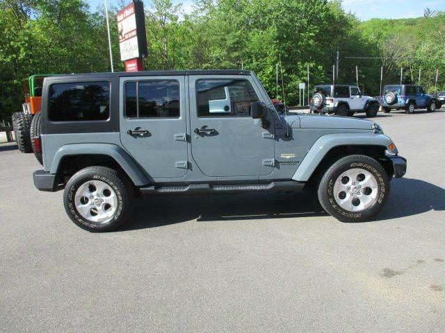 2014 Jeep Wrangler Unlimited 4x4 Sahara 4dr SUV - Epsom NH