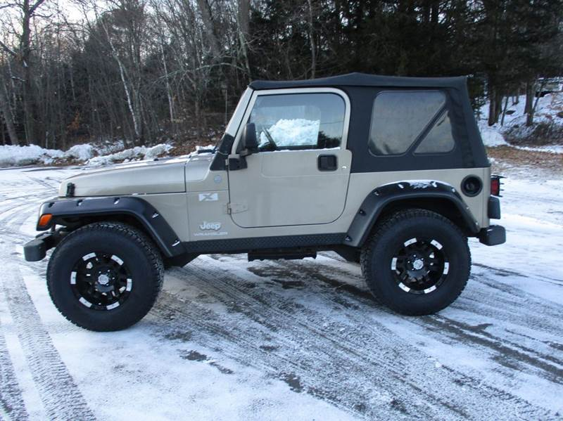 2004 jeep wrangler 2dr x 4wd suv in epsom nh route 4 motors for Foss motors jeep nh