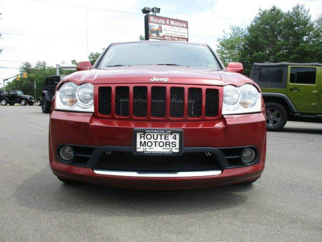 2006 Jeep Grand Cherokee SRT8 4dr SUV 4WD w/ Front Side Airbags - Epsom NH