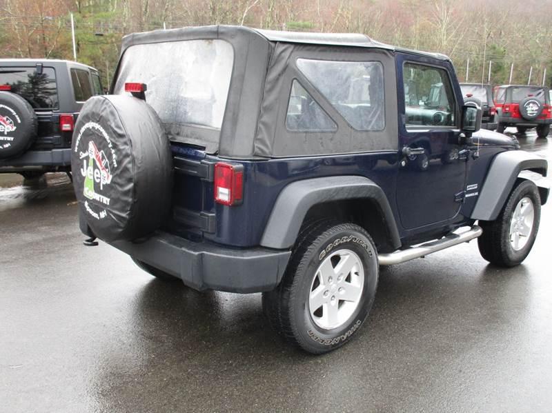 2013 Jeep Wrangler 4x4 Sport 2dr SUV - Epsom NH