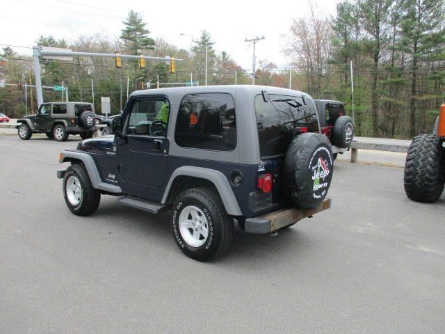 2005 Jeep Wrangler Sport 4WD 2dr SUV - Epsom NH