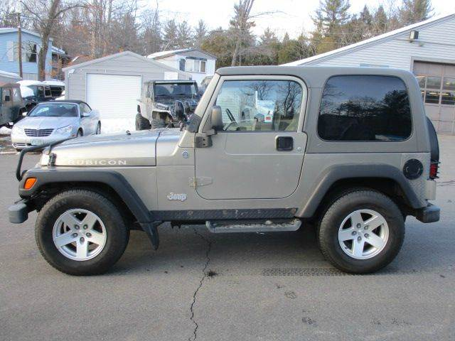 2006 jeep wrangler rubicon 2dr suv 4wd in epsom nh route for Foss motors jeep nh