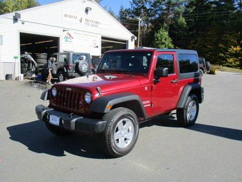 2012 Jeep Wrangler for sale in Epsom, NH