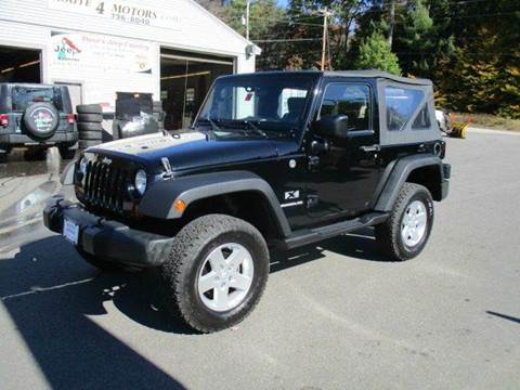 2009 Jeep Wrangler for sale in Epsom, NH