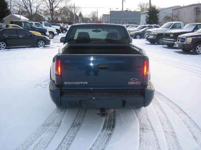 2001 GMC Sonoma 2dr Extended Cab SLS 2WD SB - Fairborn OH