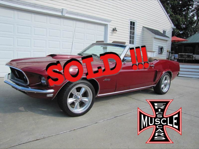 1969 Ford Mustang Convertible SOLD SOLD SOLD